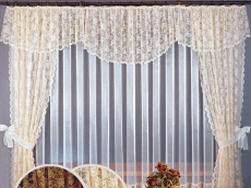 Wisan curtains, blinds, tablecloths linen napkins runners Poland